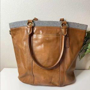 Cole Haan Leather Logan Tote Bag